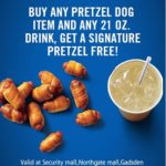 Auntie Anne Coupon