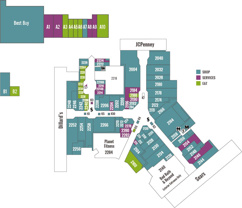 Directory - Panama City Mall